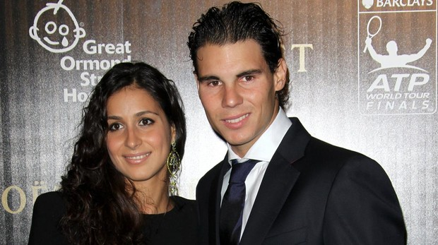 Rafa Nadal y su prometida Mery