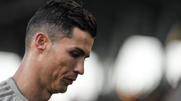 Cristiano Ronaldo, este fin de semana, durante un partido en Bolonia