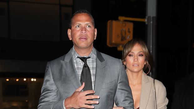 Alex Rodríguez y Jennifer Lopez