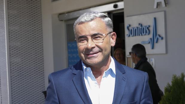 Jorge Javier Vázquez, a la salida del hospital