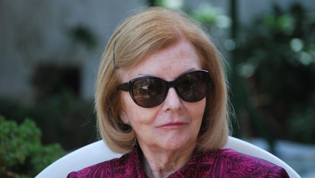 La viuda de Juan Domingo Perón en una imagen de 2012