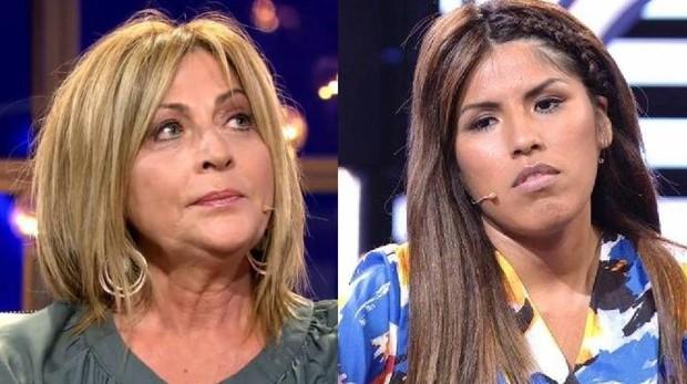 Chabelita y la madre de Alejandro Albalá
