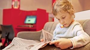 Cómo acercar la lectura del periódico a los niños