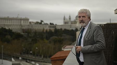 El filósofo Gregorio Luri, durante la entrevista con ABC