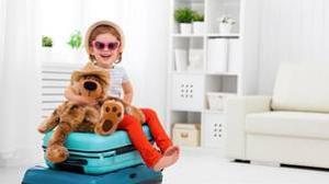 Trucos para organizar la maleta de los niños sin que se pierda nada