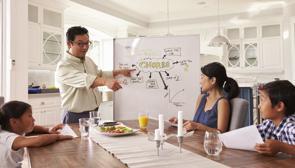 Negocia en familia con tácticas empresariales