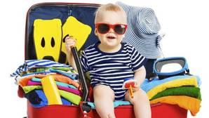 Viajar con niños no debe parecer una mudanza