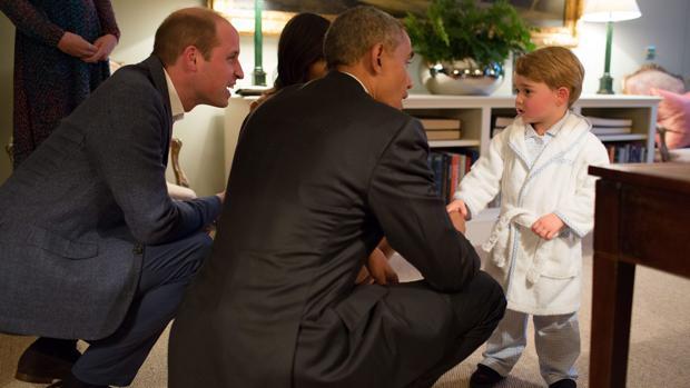 El método de comunicación que utiliza el príncipe Guillermo con su hijo