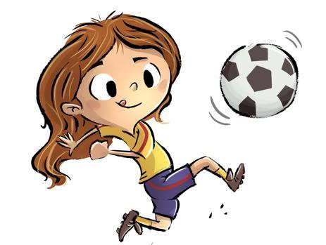 Las niñas de familias con rentas bajas practican menos deporte