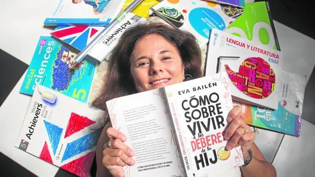 Eva Bailén considera que los deberes crean conflictos familiares