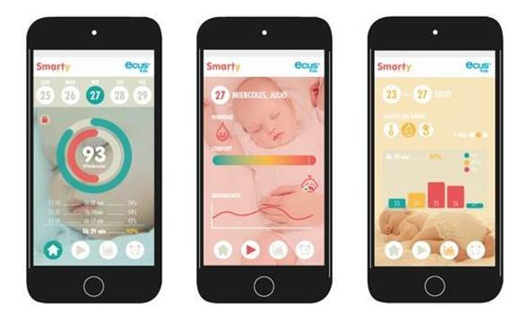 Conecta la cuna de tu bebé a tu smartphone