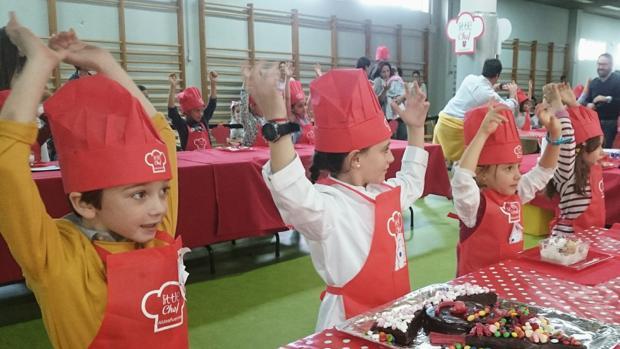 Más de 100 niños de infantil muestran su creatividad con recetas saludables