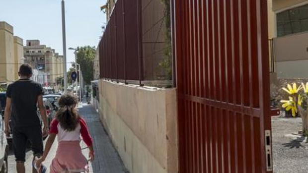 Entrada a un colegio público de Palma de Mallorca donde se produjo otro caso de bullying recientemente