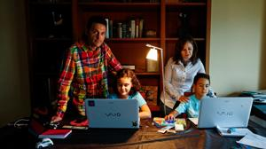 Sara, de 10 años, y Samuel, de 9, son dos niños de altas capacidades