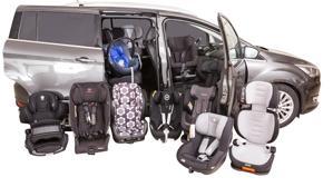 Un 5% de conductores reconocen no utilizar un sistema de retención infantil