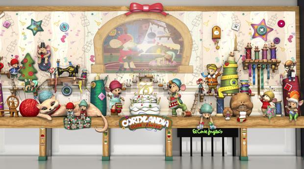Cortylandia ha inaugurado su espectáculo navideño con unos tiernos ratoncitos