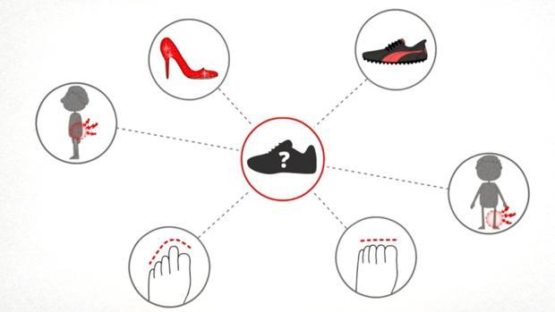 Es bueno cambiar de calzado y altura del tacón cada día para prevenir lesiones