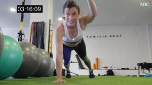 Vídeo: Cuatro minutos de ejercicios para conseguir en casa una tripa perfecta