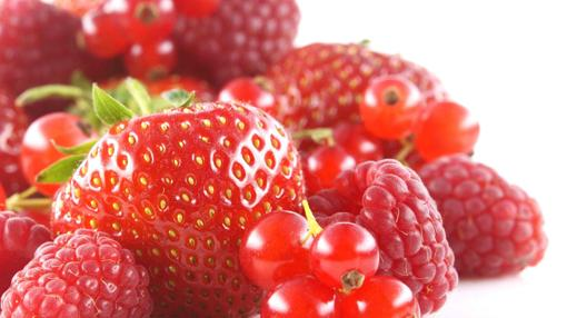 Los frutos rojos contienen pigmentos que protegen el sistema nervioso y la memoria