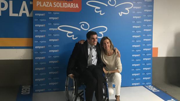 Presentación de una de las plazas solidarias en Colón