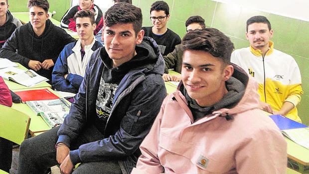 Aitor y Sergio, dos de los protagonistas de esta gran historia