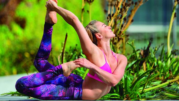 Ambra Ballo, una de las profesionales del Global Yoga Congress.