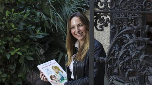 Lucía Galán durante la entrevista en ABC