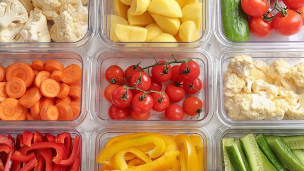 Es importante mantener separadas las distintas preparaciones culinarias en recipientes distintos