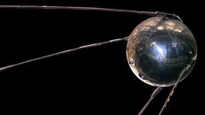 Fotografía de la nave Sputnik 1