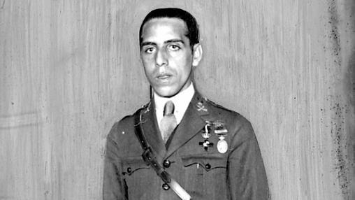 Luis Casado, el único superviviente de la defensa de Igueriben