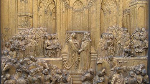 La Reina de Saba en su encuentro con el Rey Salomón.