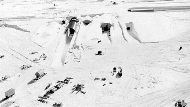 La base secreta fue construida durante la Guerra Fría