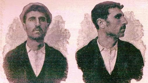 Ilustración del famoso bandidado en su juventud
