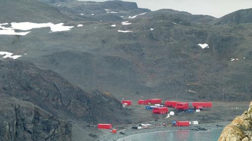 Las instalaciones completamente nuevas de la Base Juan Carlos I en 2011.