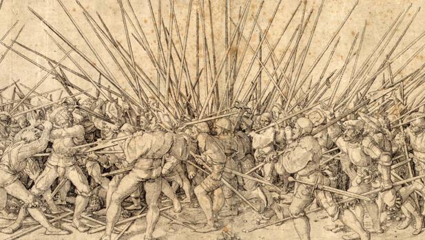Mala guerra, de Hans Holbein «el Joven»