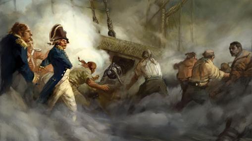 Nelson, en Trafalgar