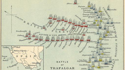 Batalla de Trafalgar (estrategia inglesa)