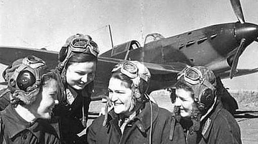 Mujeres piloto del Ejército Rojo
