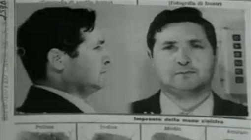 Ficha policial de Salvatore Riina