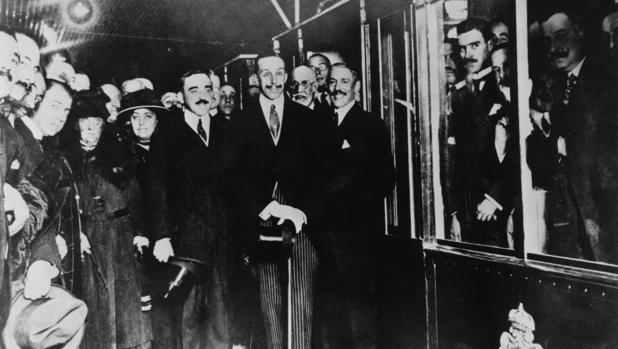 Inauguración del Metro de Madrid en 1919