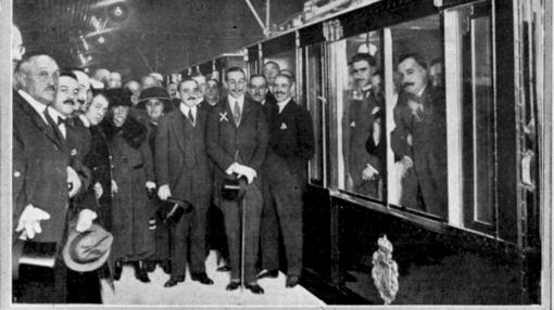 La imagen publicada el 18 de octubre de 1919
