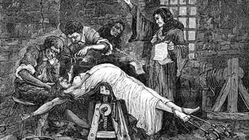 Tortura a una presunta bruja