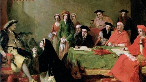 Catalina suplicando en el juicio contra ella por parte de Enrique