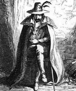 Guy Fawkes en una ilustración de George Cruikshank