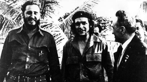 Guevara y Castro, en una fiesta en Nueva York