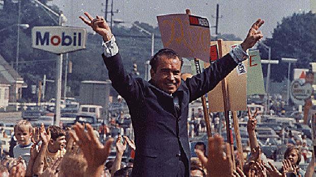 Nixon en la campaña de 1968