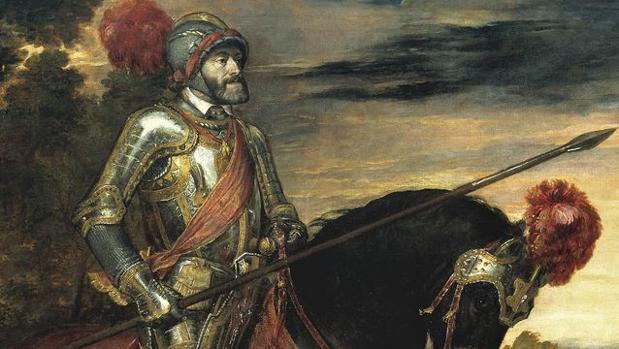Carlos V a caballo en Mühlberg, de Tiziano