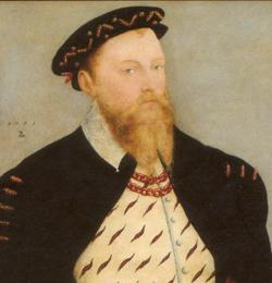 Retrato de Mauricio de Sajonia