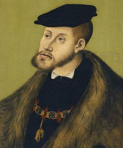 Rertato de Carlos V en su juventud