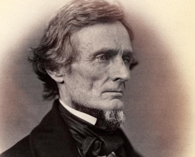 Fotografía de Jefferson Davis en 1859